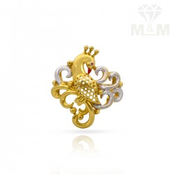 Exquiste Gold Casting Ring