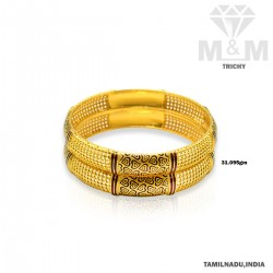 Personable Gold Fancy Bangle