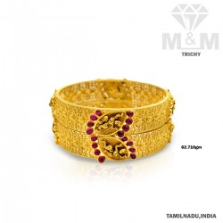 Tremendous Gold Fancy Bangle