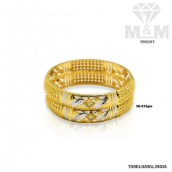 Tranquil Gold Fancy Bangle