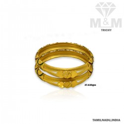 Fortunate Gold Fancy Bangle
