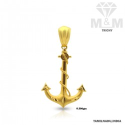 Mannerly Gold Casting Pendant