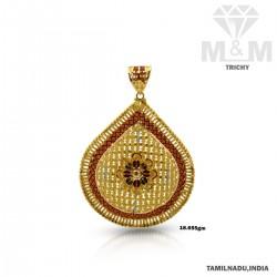Venerable Gold Fancy Pendant