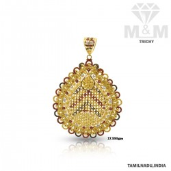 Magnificent Gold Fancy Pendant