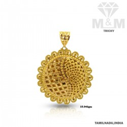 Archetypal Gold Fancy Pendant