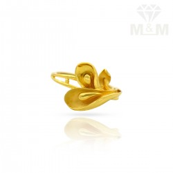 Magnificent Gold Casting Ring