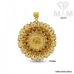 Indelible Gold Fancy Pendant
