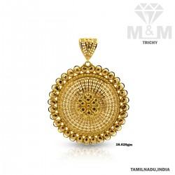 Ubiquitous Gold Fancy Pendant