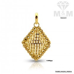 Observant Gold Fancy Pendant