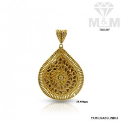 Festivity Gold Fancy Pendant