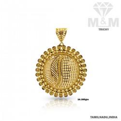 Magnificent Gold Fancy Pendant