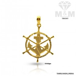 Mythical Gold Casting Pendant