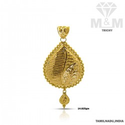 Distinction Gold Fancy Pendant