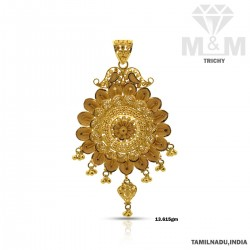 Flawless Gold Fancy Pendant