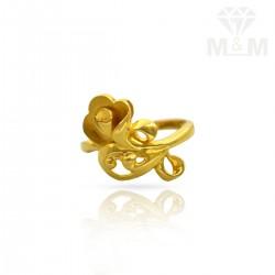 Venerable Gold Casting Ring