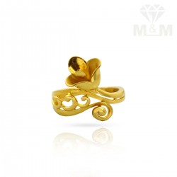 Memorable Gold Casting Ring