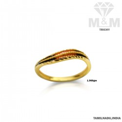 Beautiful Gold Casting Ring
