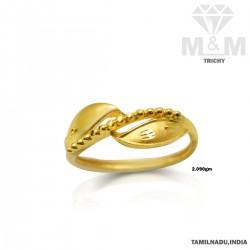 Enchanting Gold Casting Ring