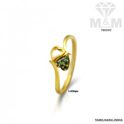 Exotic Gold Casting Ring