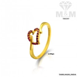 Gorgeous Gold Casting Ring