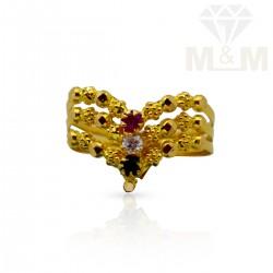 Subtle Gold Fancy Ring
