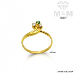 Picturesque Gold Casting Ring
