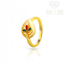 Beauteous Gold Casting Ring