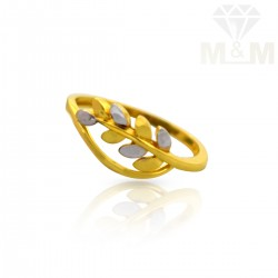 Charming Gold Casting Ring