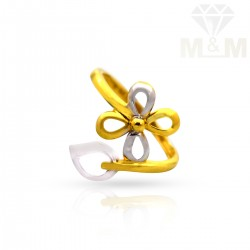 Cute Gold Casting Ring