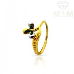Elegant Gold Casting Ring