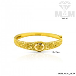 Alluring Gold Bangle Type...