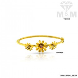 Blessed Gold Bangle Type...