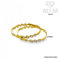 Modern Gold Fancy Rhodium...