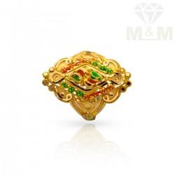 Modern Gold Fancy Ring