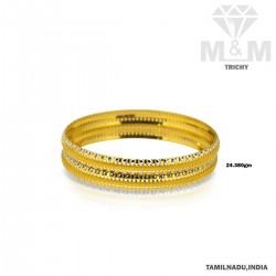 Cognizant Gold Fancy Bangle
