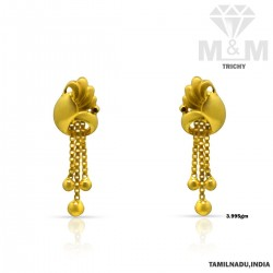 Gentle Gold Casting Earring