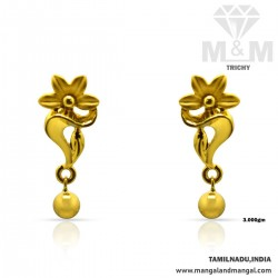 Glorious Gold Casting Earring