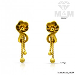 Magical Gold Casting Earring