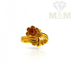 Magnificent Gold Fancy Ring