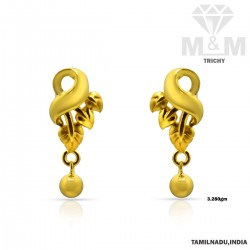 Nice Gold Casting Earring