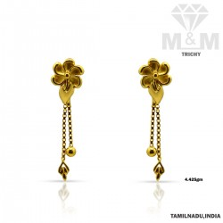 Pleasant Gold Casting Earring