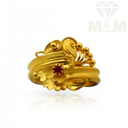 Hallowed Gold Fancy Ring