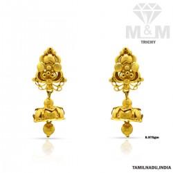 Superb Gold Fancy Earring