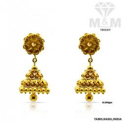 Wonder work Gold Fancy Earring