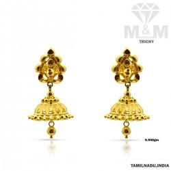 Wondrous Gold Fancy Earring