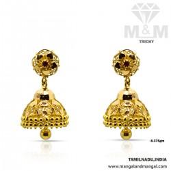 Prettiest Gold Fancy Earring