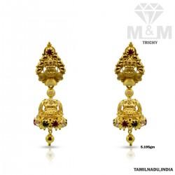 Pristine Gold Fancy Earring