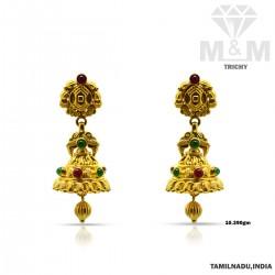 Amiable Gold Fancy Earring