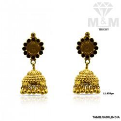 Enthral Gold Fancy Earring