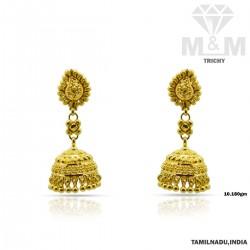 Celebrated Gold Fancy Earring